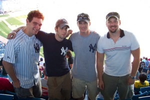 With Steve, Pat and Mike in 2005